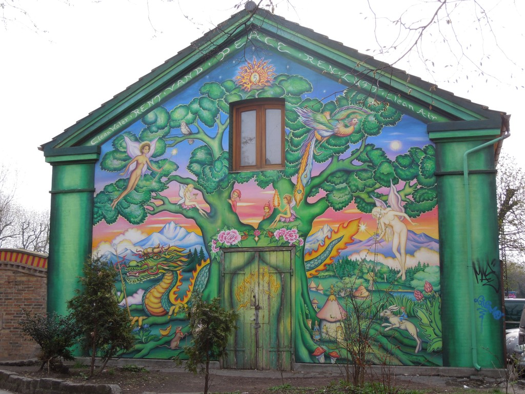 Seule photo posible dans le quartier de Christiania